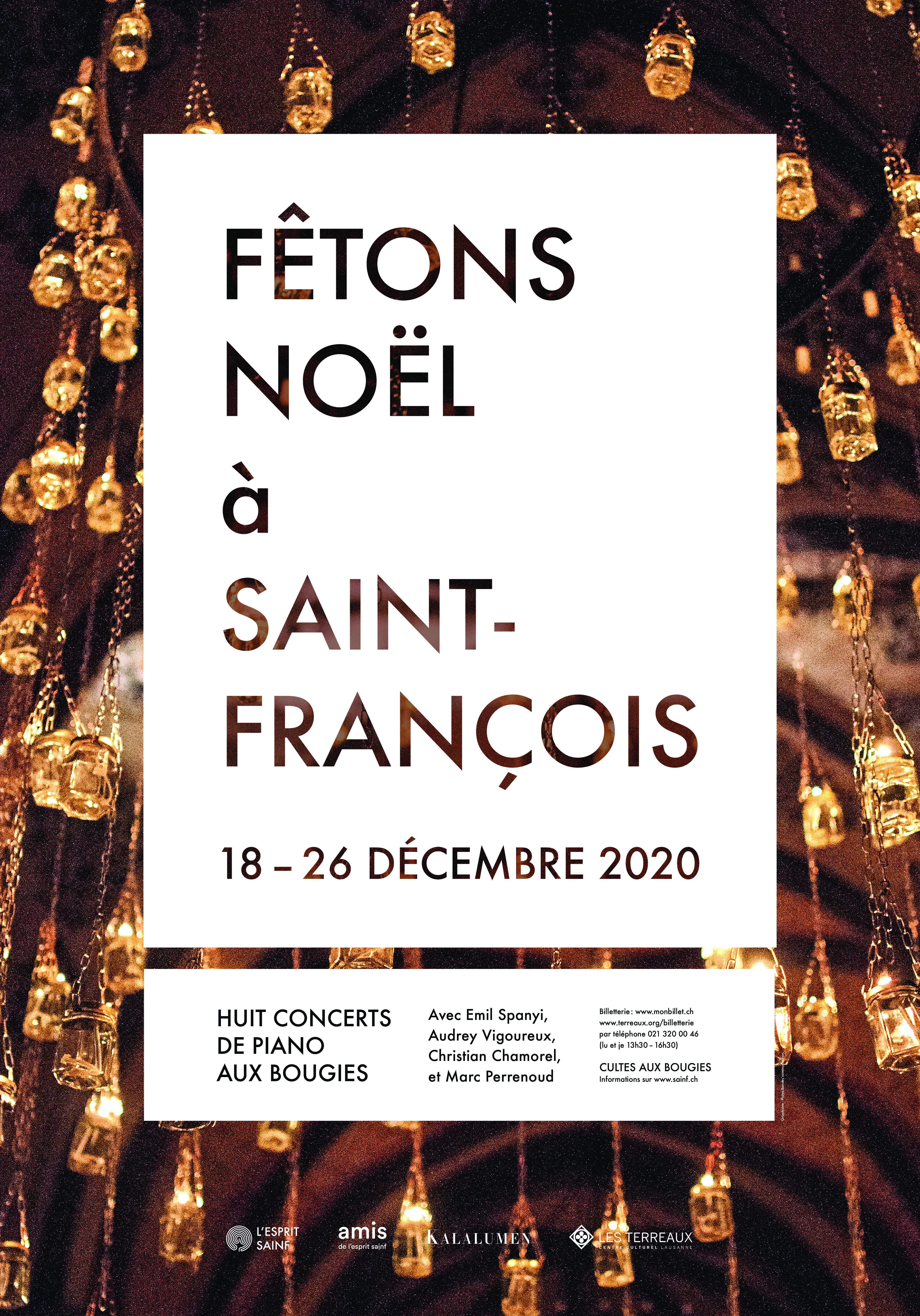 Noël aux bougies à Saint-François