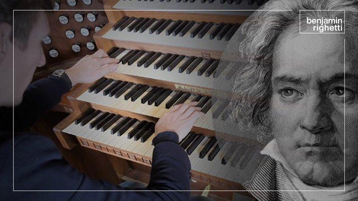 B. RIGHETTI : Fantaisie-Pastorale pour orgue, d'après Ludwig van Beethoven